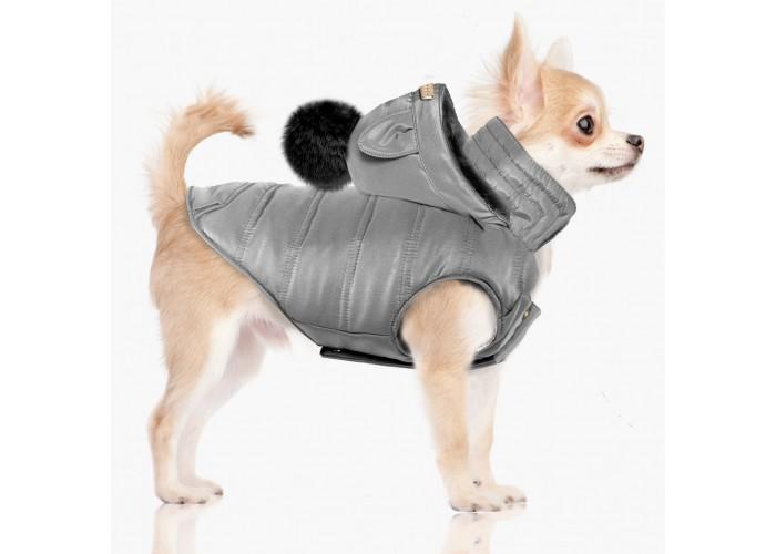 Abrigo para perro Blizz Grey Mascoboutique Milk & Pepper