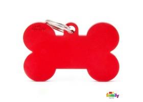 Chapa Basic Hueso XL Rojo