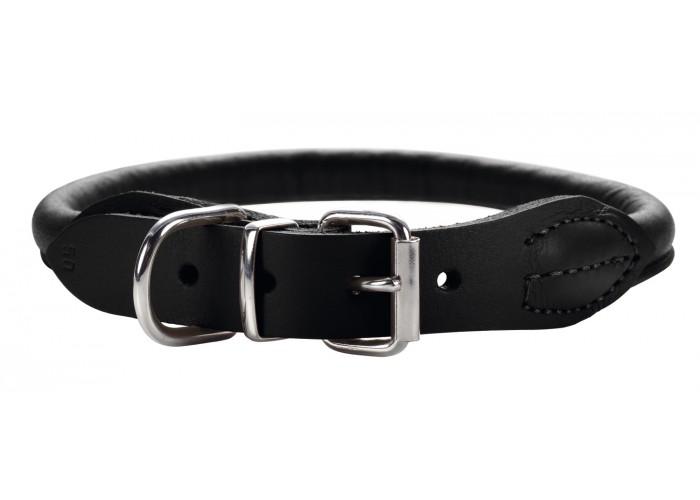 Collar para perro Round & Soft Luxus Elk Negro Hunter
