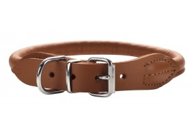 Collar Round & Soft Luxus Elk Cognac