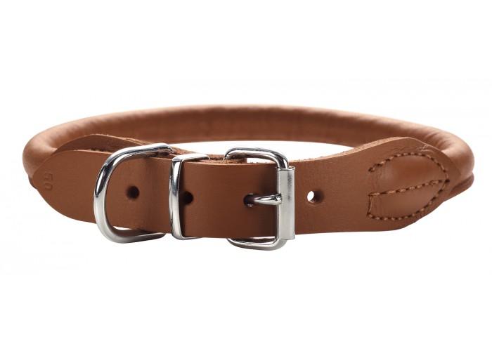 Collar para perro Round & Soft Luxus Elk Cognac Hunter