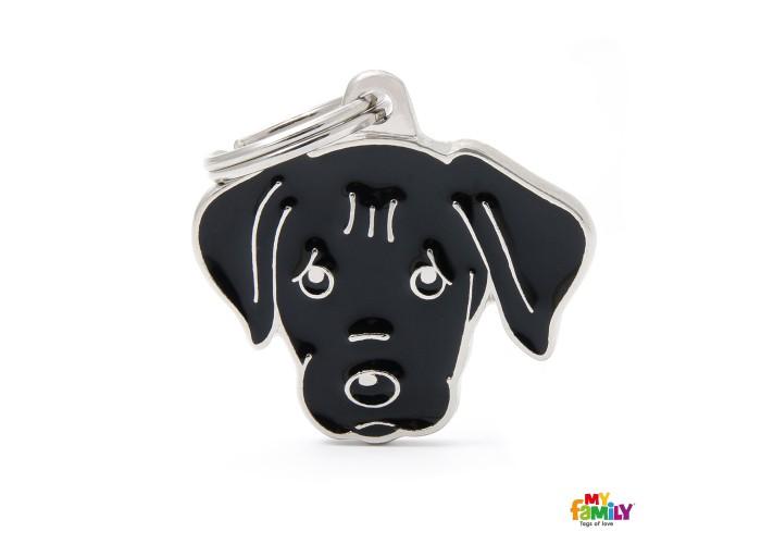 Chapa Friends Labrador Negro