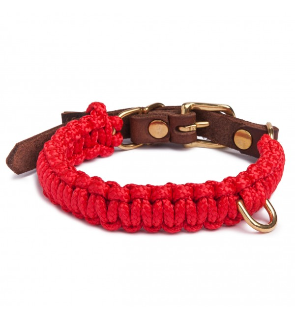 Collar para perro Touch of Leather Lipstick Molly and Stitch