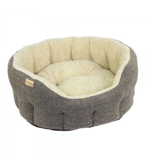 Cama para perro Tweed Beige Earthbound Mascoboutique