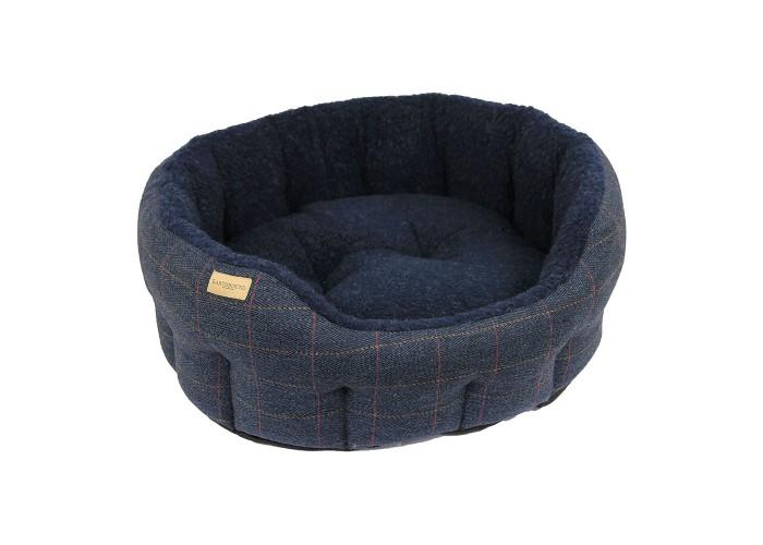 Cama Tweed Azul Marino
