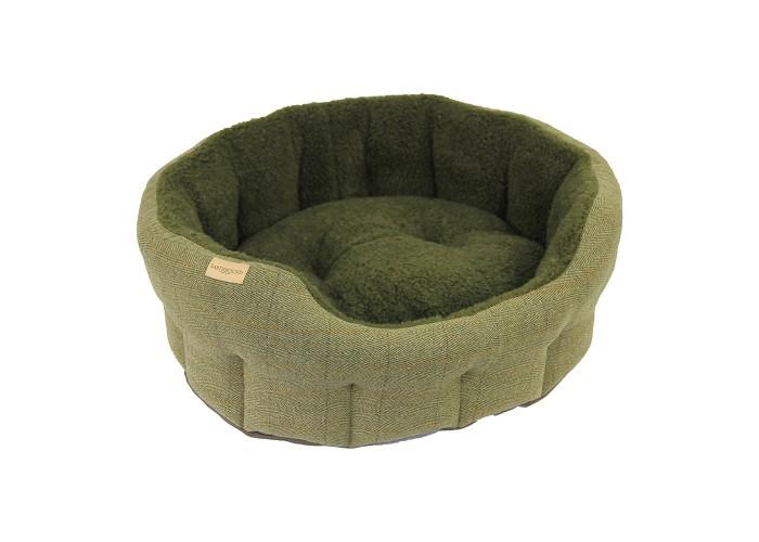 Cama Tweed Verde