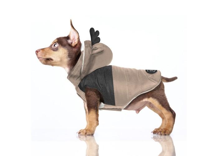 Abrigo para perro Blitzen Camel Milk & Pepper Mascoboutique