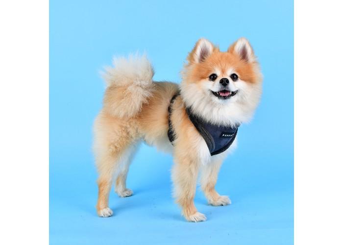 Arnés para perro Terry Gris Puppia Mascoboutique