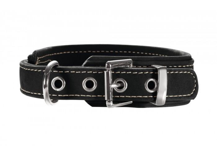 Collar para perro Nubuk Negro Hunter Mascoboutique