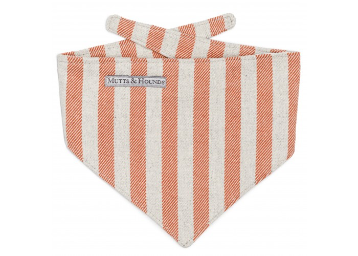 Bandana Orange Stripes