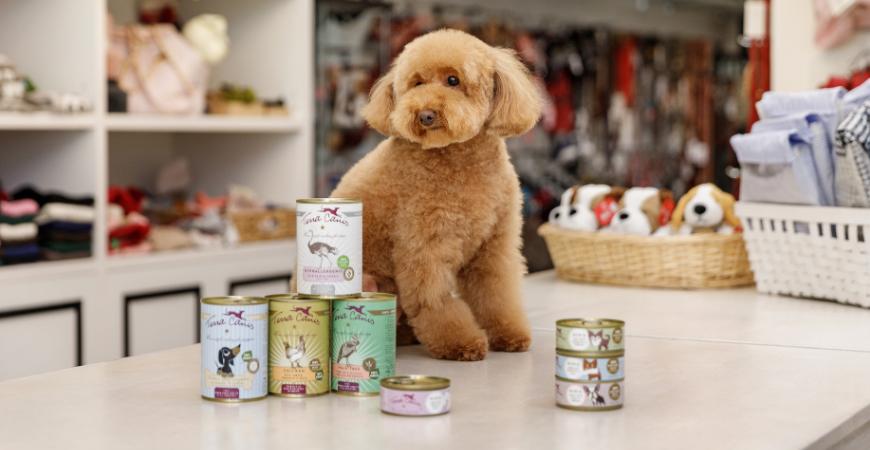 ¡La alimentación natural para perros está de moda!